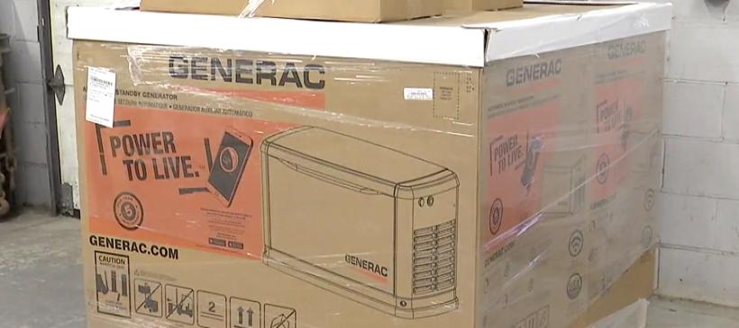 Advanced Energy Group donates generators to MHA